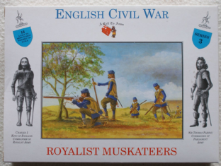 A Call To Arms 1/32 CAL3203 Royalist Musketeers (ECW)